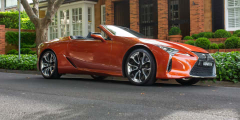 The 8 coolest details on the 2021 Lexus LC500 Convertible