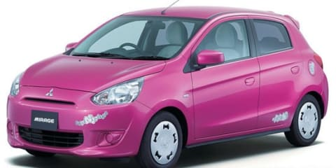 Mitsubishi Mirage Hello Kitty edition revealed