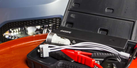 DIY: how to jump start a car using a portable power pack