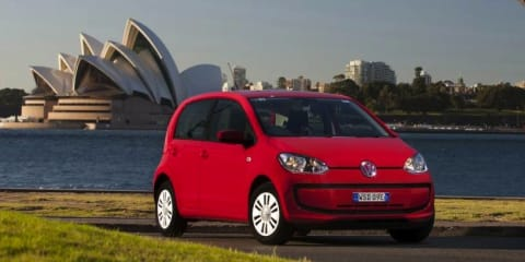 Volkswagen Up! priced from $13,990