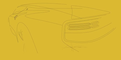 First look: Nissan 400Z rear-end teased in official sketch