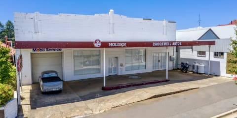 Old country Holden dealership converted into a residence, offered for sale