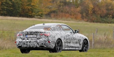 2020 BMW 4 Series spied inside and out