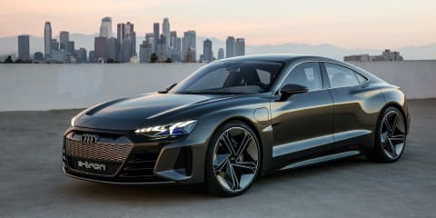 2021 Audi E-Tron GT to get RS hero and jet sounds