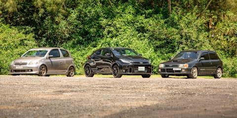 Toyota city car performance comparison