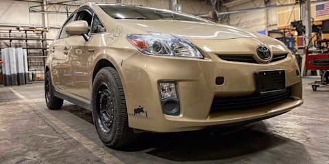 Prius Offroad allows your hybrid to go free-range