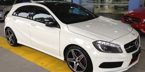 2013 Mercedes-Benz A250 Sport review