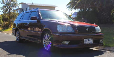 2003 Toyota Crown Estate Athlete V review