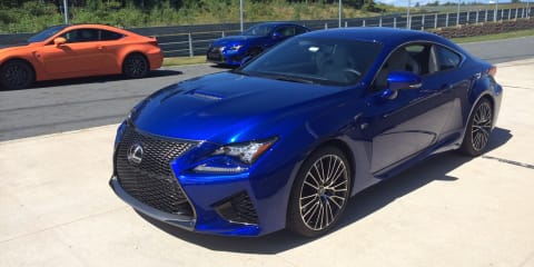 Lexus RC F : 351kW, 550Nm from new 5.0L V8
