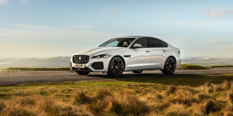 2021 Jaguar XF P300 AWD international first drive