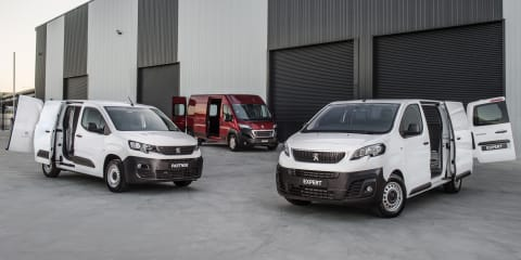 Peugeot rejoins van market: autonomous emergency braking and five year warranty across the range