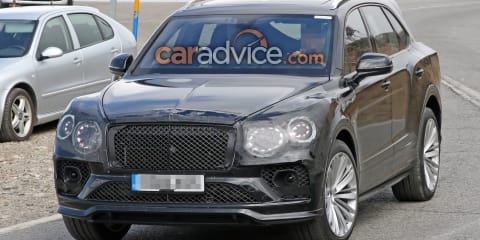 2020 Bentley Bentayga facelift spied