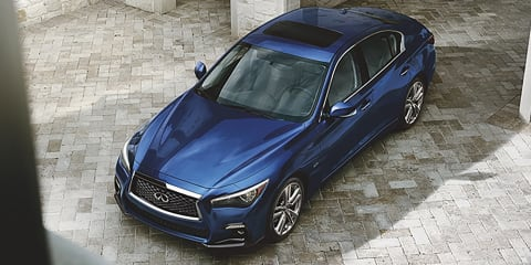 Infiniti Q50 Signature Edition headed to New York