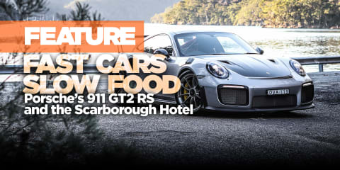 Fast cars, slow food: Driving and dining with the Porsche GT2 RS