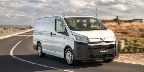 2021 Toyota HiAce loses its colour, white paint now the only option