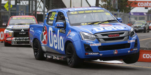 Isuzu D-Max wins SuperUtes championship, as series switches to V8s for 2020