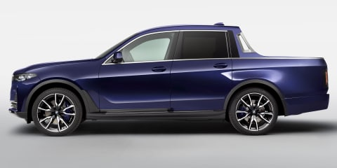 BMW X7 Pick-up concept unveiled