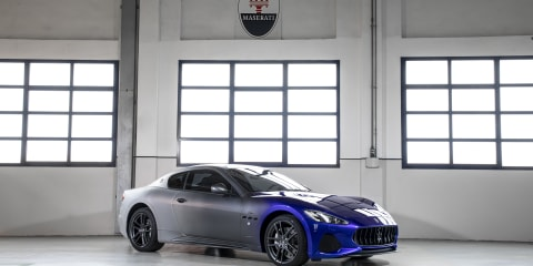 Maserati GranTurismo production ends with Zéda special