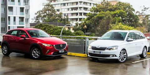 Mazda CX-3 v Skoda Fabia Wagon Comparison Review