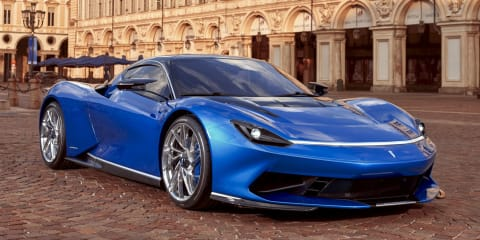 Pininfarina Battista front end redesigned ahead of launch