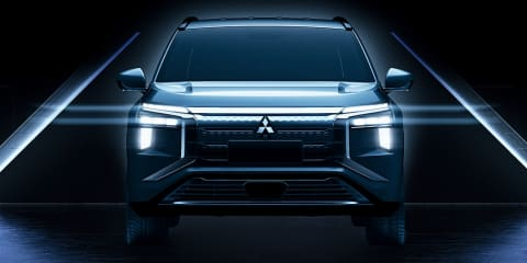 Fully-electric 2022 Mitsubishi Airtrek teased, based on the Outlander