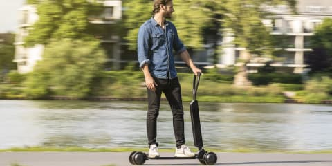 2021 Audi e-tron Scooter unveiled