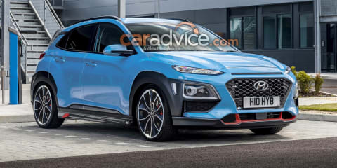 Hyundai Kona N due in July with 2.0-litre turbo, all-wheel drive - report