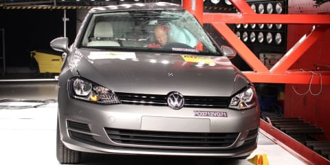 Volkswagen Golf Mk7 awarded five-star ANCAP safety rating