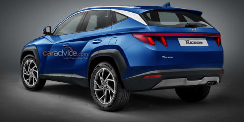 2021 Hyundai Tucson previewed in new renderings