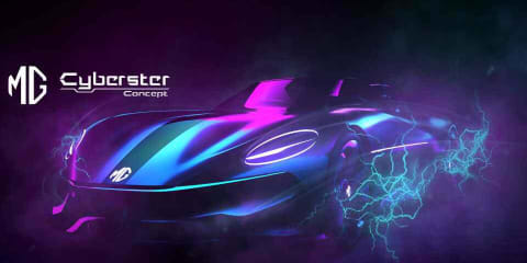 MG Cyberster concept: two-seat sports car previewed