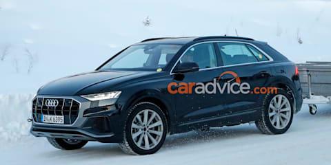 2020 Audi Q8 'TFSI e' spied