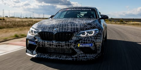 BMW M2 'GT4' teased