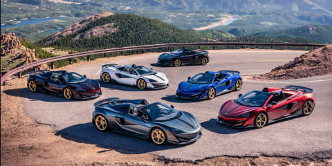 McLaren 600LT Pikes Peak Collection revealed
