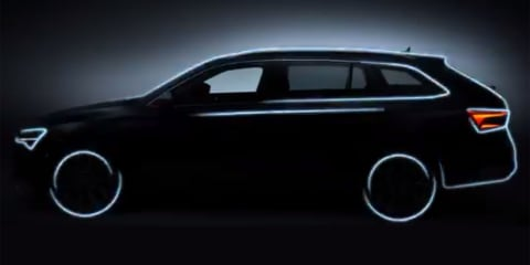 2020 Skoda Superb Scout teased