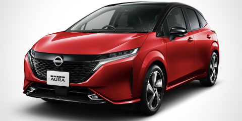 2021 Nissan Note Aura revealed in Japan, no plans for Australia