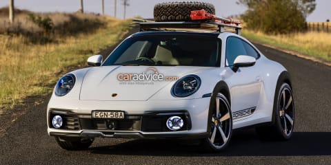 2021 Porsche 911 Carrera Cross: High-riding 'Safari' imagined