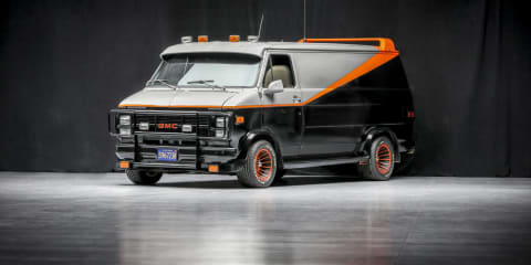 I love it when a plan comes together – Original A-Team van up for auction - UPDATE: Sold!