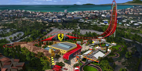 Ferrari Land theme park to open in Spain in 2016