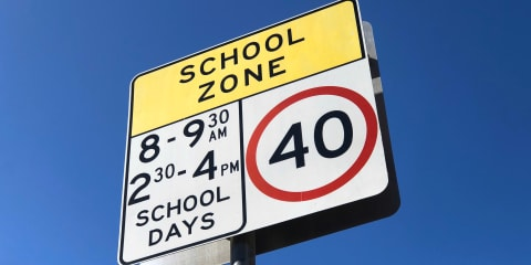 Drivers slow to get the message about school zones
