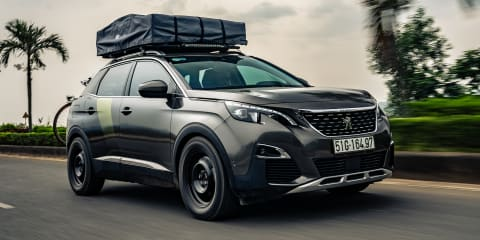 Peugeot reveals rugged 3008 concept