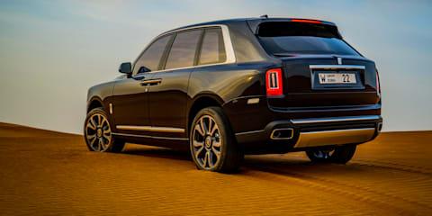 Gallery: Dune bashing in the Rolls-Royce Cullinan