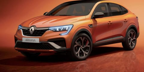 2021 Renault Arkana revealed, Australia to miss out on hybrid options