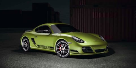 2011 Porsche Cayman R at Los Angeles Auto Show