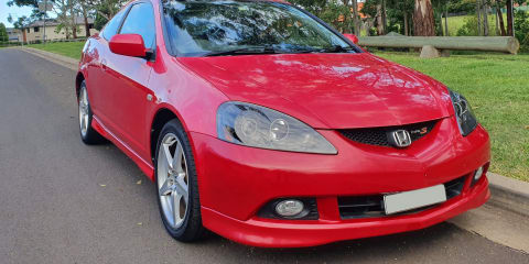2005 Honda Integra Type S review