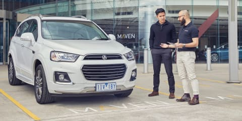 Sharing economy growing as Holden's Maven Gig turns one