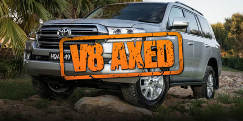 Toyota to axe LandCruiser V8