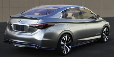 Infiniti LE-based production EV postponed to wait for better tech