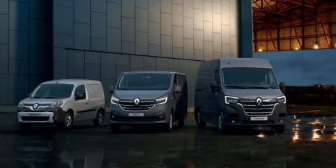 Updated Renault Trafic, Master revealed alongside Kangoo EV concept