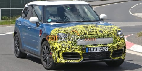 2021 Mini Countryman spy photos
