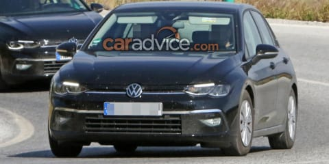 2021 Volkswagen Golf spied virtually disguise free